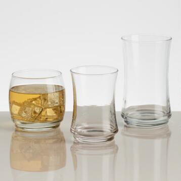 Stackable Glass Collection
